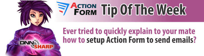 Send emails with Action Form