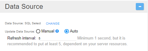 Grid Datasource Auto Update