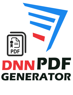 DNN PDF Generator Add-on