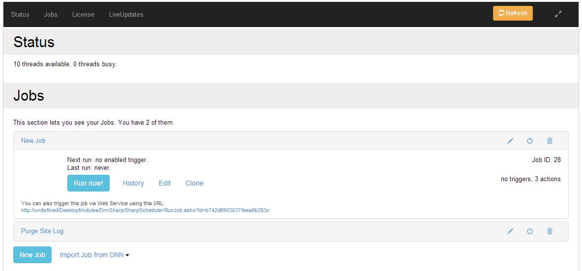 DNN Sharp > Products > Sharp Scheduler > DNN Store Content